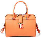 Ralph Lauren Carrington Barrel Satchel