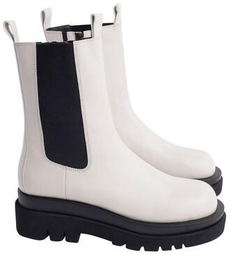 Tony Bianco Boxer Dove Capretto Boots