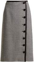 Altuzarra Christofor hound's-tooth wool pencil skirt