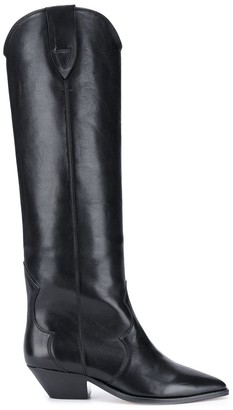 Isabel Marant Pointed Toe Knee-Length Boots