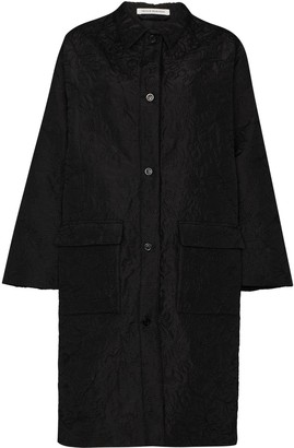 Cecilie Bahnsen Megan oversized embroidered coat