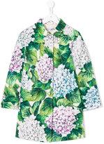 Dolce & Gabbana hydrangea print coat