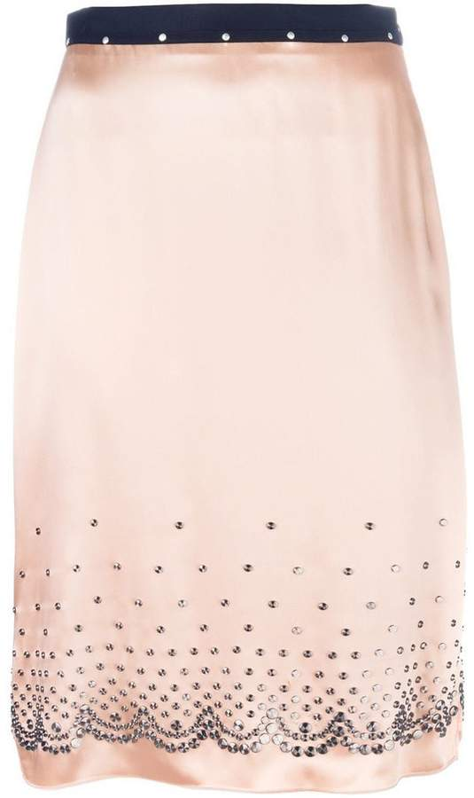 Alexander Wang embellished skirt