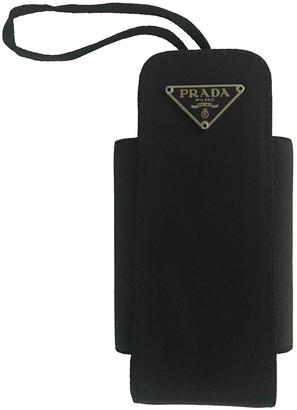 Prada Black Cloth Phone charms