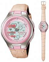 Casio Women's Poptone LCF10L-4A Leather Quartz Watch with Dial