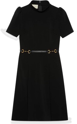 Gucci Viscose dress with Horsebit