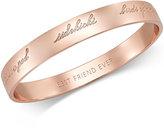 Kate Spade Rose Gold-Tone Bridesmaid Bangle Bracelet