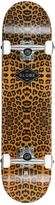 "Globe Full On Leopard Printed 7.7"" Skateboard"