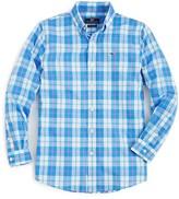 Vineyard Vines Boys' Barbados Plaid Button-Down Shirt - Sizes 2-7