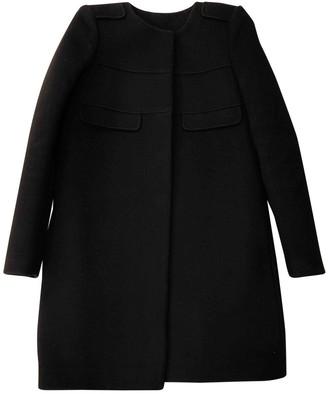 Tara Jarmon Black Wool Coat for Women