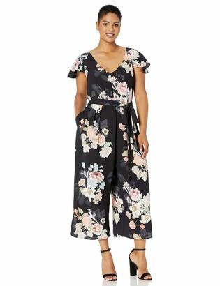 City Chic Women's Apparel Women's Plus Size Jumpsuit MID Summer XL