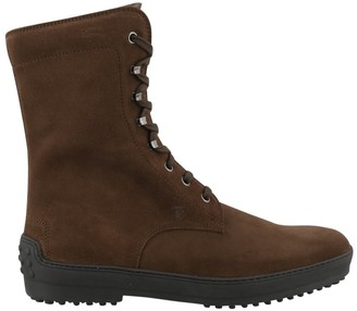 Tod's Gommino Lace Up Boots