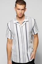 Boohoo Short Sleeve Revere Shirt