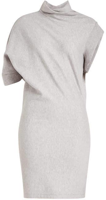Maison Margiela Asymmetric Jersey Dress