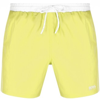 Boss Business BOSS Starfish Swim Shorts Yellow