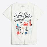 J.Crew Factory Sea life collector T-shirt
