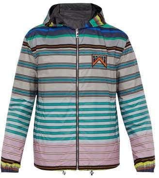 Prada Reversible Hooded Technical Jacket - Mens - Multi