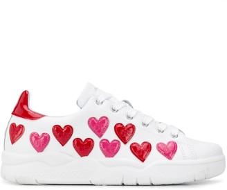 Chiara Ferragni Heart-Embellished Sneakers