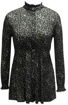 Style&Co. Style & Co Plus Size Printed Mesh Tunic, Created for Macy's