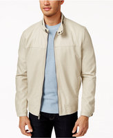 Kenneth Cole New York Faux-Leather Bomber Jacket