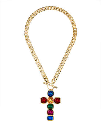 Natasha Accessories Limited Cross Crystal Necklace