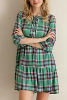 Entro Plaid Perfect Dress