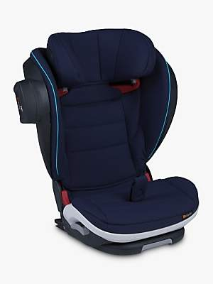 BeSafe iZi Flex FIX i-Size High-Back Booster Group 2/3 Limited Edition Car Seat, Blue Legacy