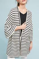 Anthropologie Striped Knit Kimono