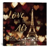 iCanvas 'Love Is In The Air' Giclee Print Canvas Art