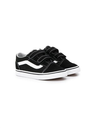 Vans Kids flat touch-strap sneakers