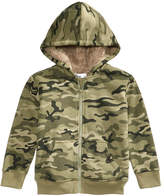 Epic Threads Fleece-Lined Full-Zip Camo Hoodie, Toddler Boys, Created for Macy's