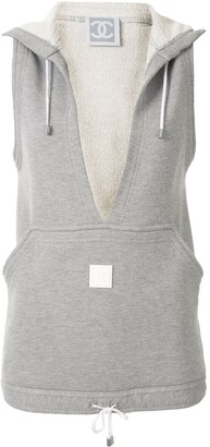 Chanel Pre Owned 2005's Sport Line Sleeveless Tops Vest