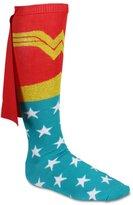 FQH Wonder Woman Cape Knee High Socks Red/Multi Sock Size 9-11