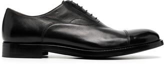 Alberto Fasciani Leather Oxford Shoes