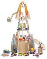 Plum Super Space Rocket Wooden Play Set