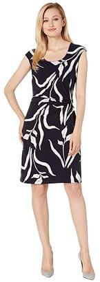 Nic+Zoe Iris Twist Dress (Multi) Women's Dress