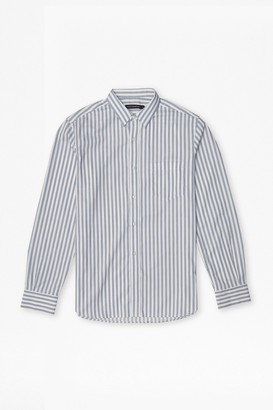 French Connection Thin Stripe Cotton Shirt
