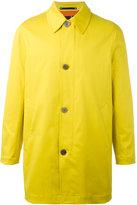 Paul Smith buttoned coat - men - Cotton/Nylon/Spandex/Elastane - S