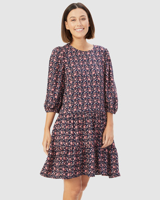 French Connection Women's Dresses - Boho Floral Dress - Size One Size, 14 at The Iconic