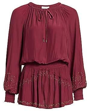 Ramy Brook Women's Cynthia Peasant Dress