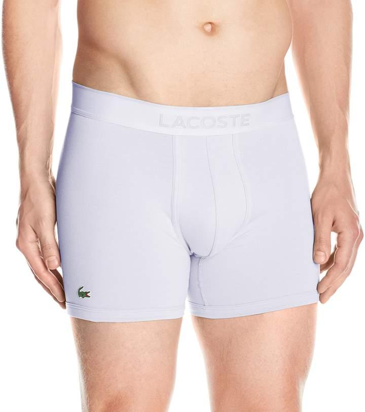 Lacoste Men's Cotton Pique Boxer Brief