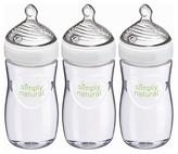 NUK Simply Natural Bottle 9Oz 3Pk