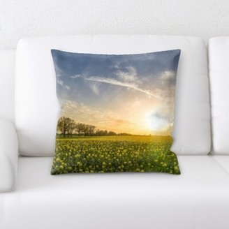 Remus Winston Porter Sunrise Throw Pillow Winston Porter
