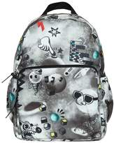 Molo Space & Doodles Nylon Canvas Backpack