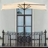 Pure Garden Half Market Umbrella
