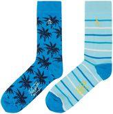 Original Penguin 2 Pack Palm Tree Ankle Socks