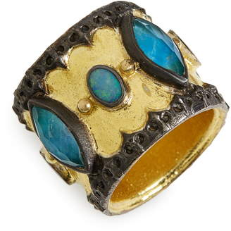 Armenta Old World Cigar Band Ring