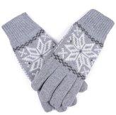Damara Men & Boys Thinsulate Thermal Lined Winter Gloves,Light Grey
