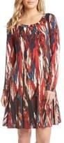 Karen Kane Women's Print A-Line Dress