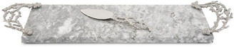 Michael Aram Ocean Reef Small Cheese Board with Spreader